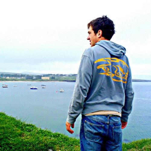 Alex at Ballinskelligs Beach
