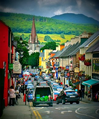 Ring of Kerry Ireland - Henry Street, Kenmare