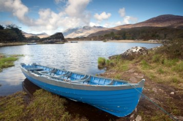 Boat on Lakes of Killarney, Ring of Kerry, Ireland