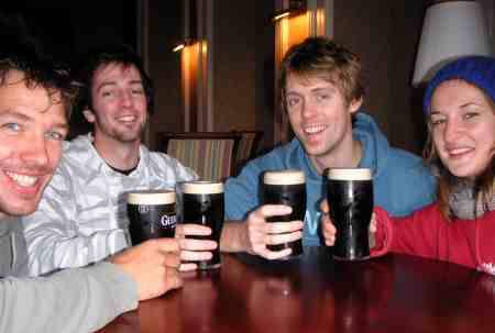 Drinks After a Flight to Kerry