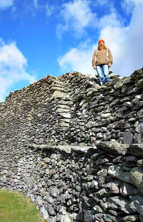 Staigue Fort Stone Wall