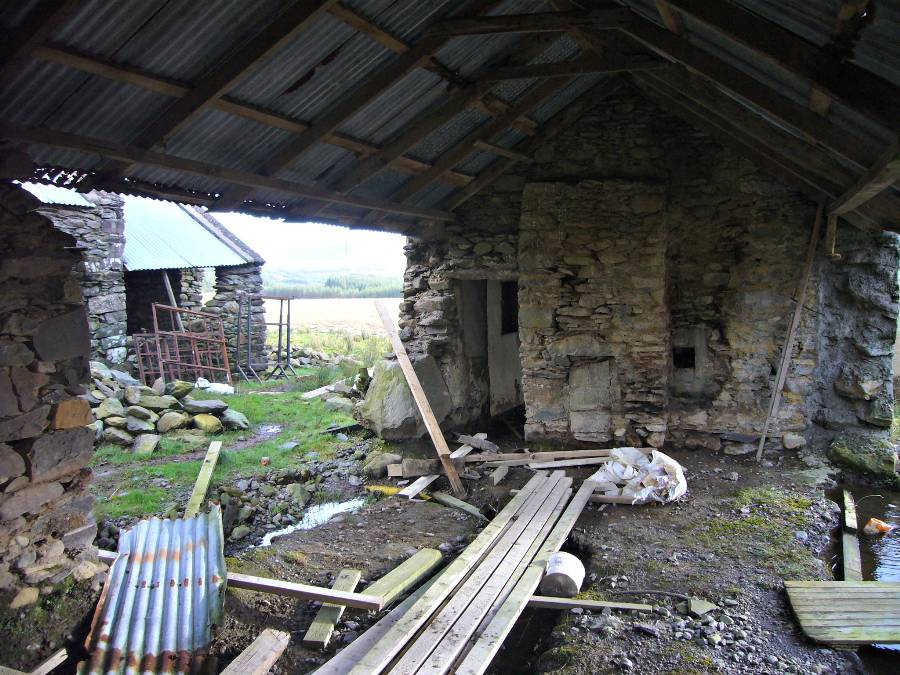 Original photos of cottage in County Kerry