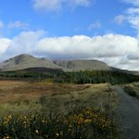 View of the hills, Cottage Ring of Kerry