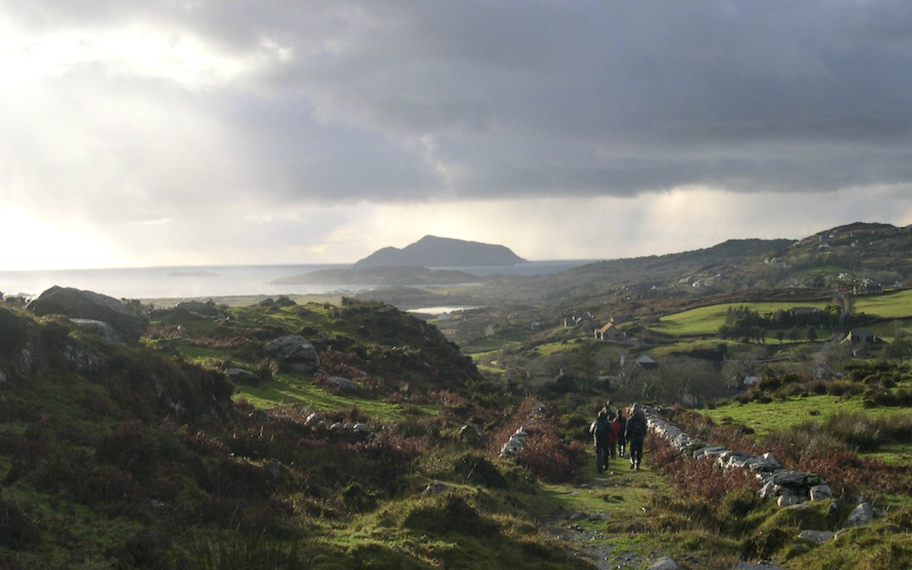 Walking the Kerry Way from Sneem to Caherdaniel