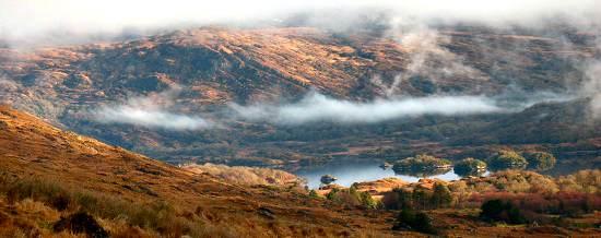 Killarney Lakes from The Black Valley