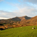 View of the mountains, Cottage Ring of Kerry