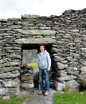 Alex at Staigue Fort
