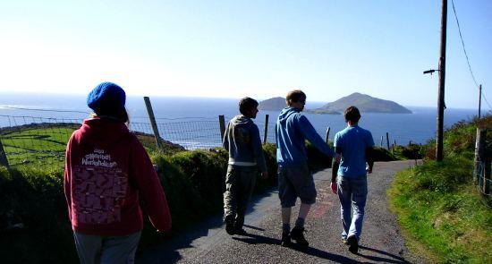 The Kerry Way Near Derrynane